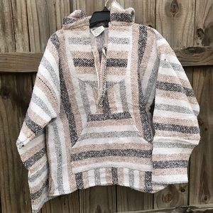 Other - Unisex Baja Hoodie ~ Surfer Hippie ~Made in Mexico